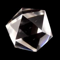 Icosaèdre en cristal de roche