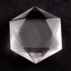 Sceau de Salomon en cristal de roche