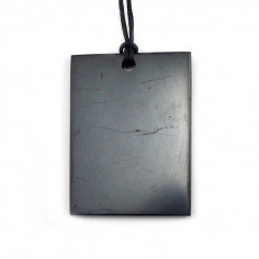 Pendentif rectangle shungite