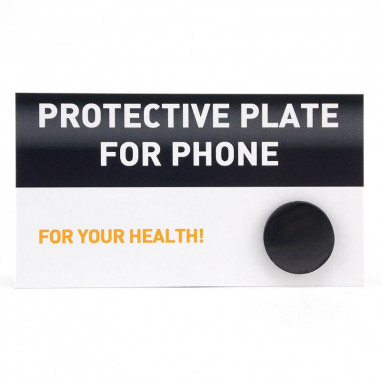 Pastille de shungite téléphone mobile smartphone protection des ondes éléectromagnétiques