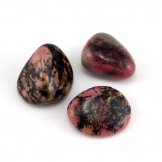 Rhodonite lot de 42,4g (3 pierres)