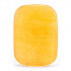 Cabochon de calcite orange