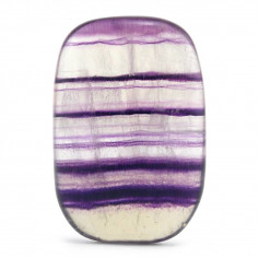 Cabochon fluorine violette