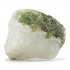 Diopside sur quartz brut 3 à 3,5 cm