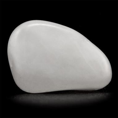 Quartz blanc (quartz neige) 2,5 à 3 cm, 8 à 12 g