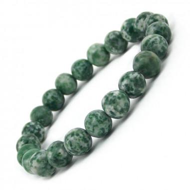 Bracelet en Antigorite perles 8 mm
