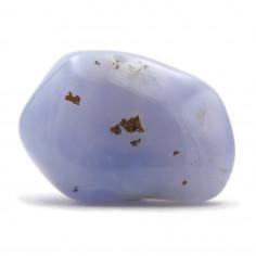 Calcédoine bleue 2,5 à 3 cm, 10 à 15 g