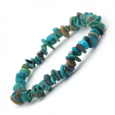 Bracelet baroque en Turquoise véritable