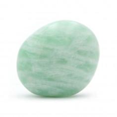 Amazonite argentée d'Inde 2,5 à 3 cm, 10 à 15 g