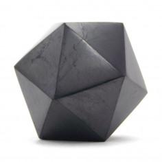 Shungite icosaèdre 4,5 x 4,5 cm, 75 g