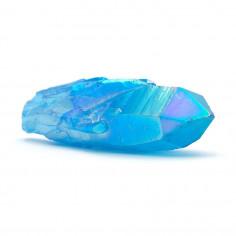 Aqua aura bleue pointe (traitement or pur) 5,5 à 6,5 cm 25 à 30 g