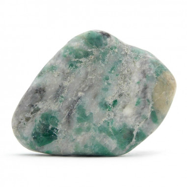 Émeraude sur quartz B 3 à 3,5 cm, 15 à 20 g