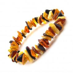 Bracelet en Ambre multicolore véritable éclat