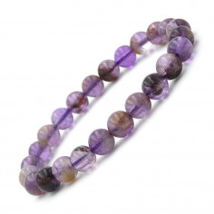 Bracelet en Auralite 23 Extra perles 7 - 8 mm
