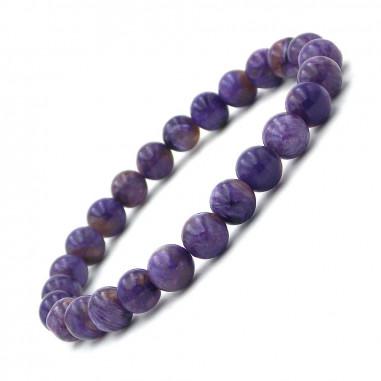 Bracelet en Charoïte Extra perles 7 - 8 mm