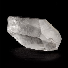 Pointe de cristal de roche brute 4 à 6 cm, 30 à 40 g