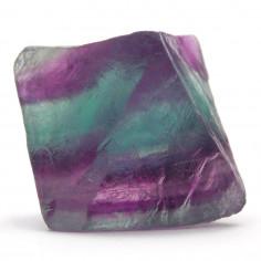 Fluorine octaèdre violette 3,5 à 4 cm, 25 à 35 g (Fluorite)