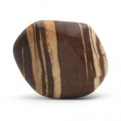 Jaspe brun 3 à 3,5 cm, 15 à 20 g (Jaspe zébré)