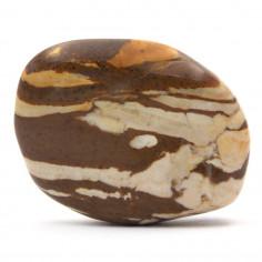Jaspe brun 3,5 cm, 20 à 25 g (Jaspe zébré)