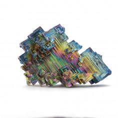 Bismuth cristallisé 228 g pièce unique