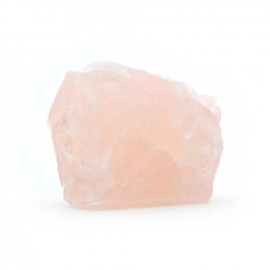 Quartz rose brut 3 cm, 15 à 25 g