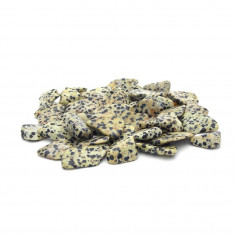 Jaspe dalmatien lot 100 g, 1 à 2 cm