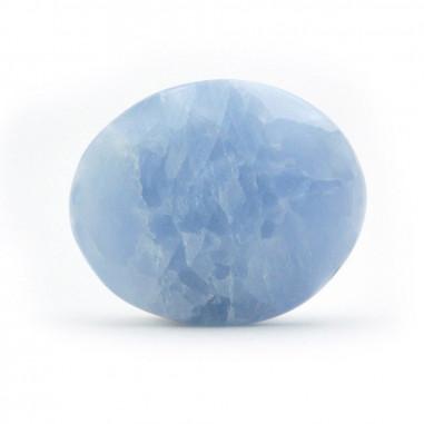 Calcite bleue ovale Extra 3,5 à 4 cm, 15 à 20 g
