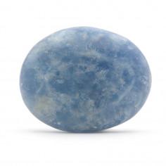 Calcite bleue ovale Extra 3 à 3,5 cm, 10 à 15 g