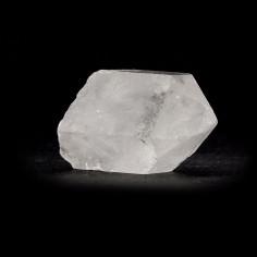 Pointe de cristal de roche brute 5 cm, 15 à 20 g