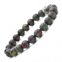 Bracelet en Dragon stone perles 8 mm