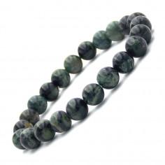 Bracelet en Jaspe Kambaba perles 8 mm
