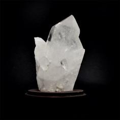 Amas cristallin, cristal de roche 524 g pièce unique