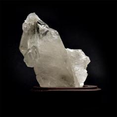 Amas cristallin, cristal de roche 374 g pièce unique