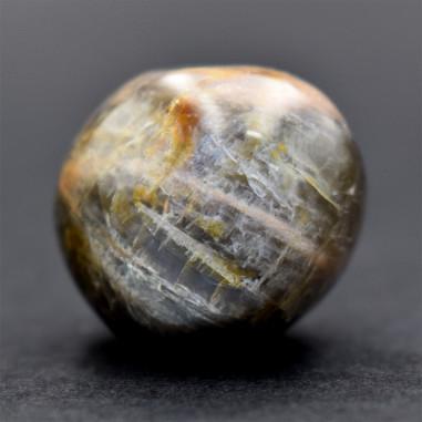 Pierre de Lune noire Madagascar 3 à 3,5 cm, 20 à 25 g