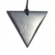 Pendentif triangle Shungite Femme