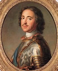 Portrait du Tsar de Russie Pierre le Grand